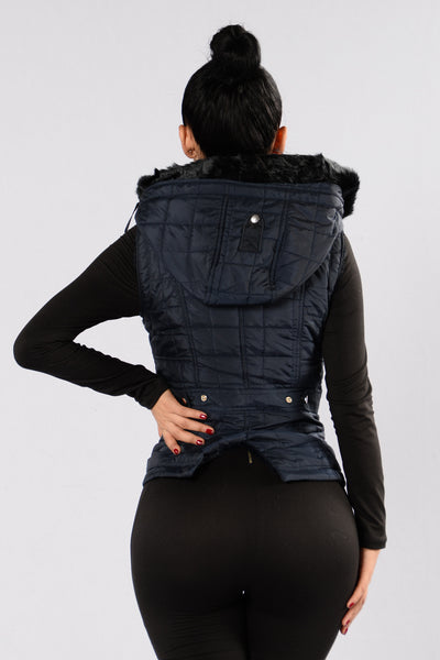 Slippin' Around Jacket - Navy