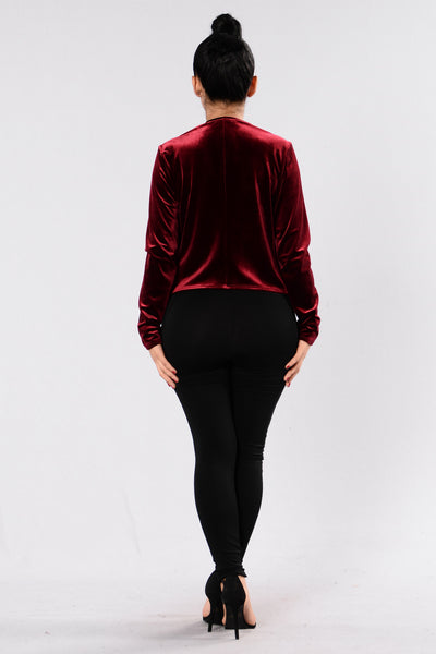 The Way Jacket - Burgundy