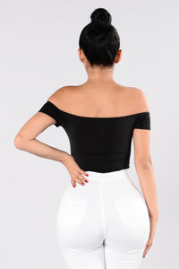 Rhythm Of the Night Bodysuit - Black