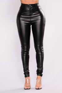 Sammie High Rise Pants - Black