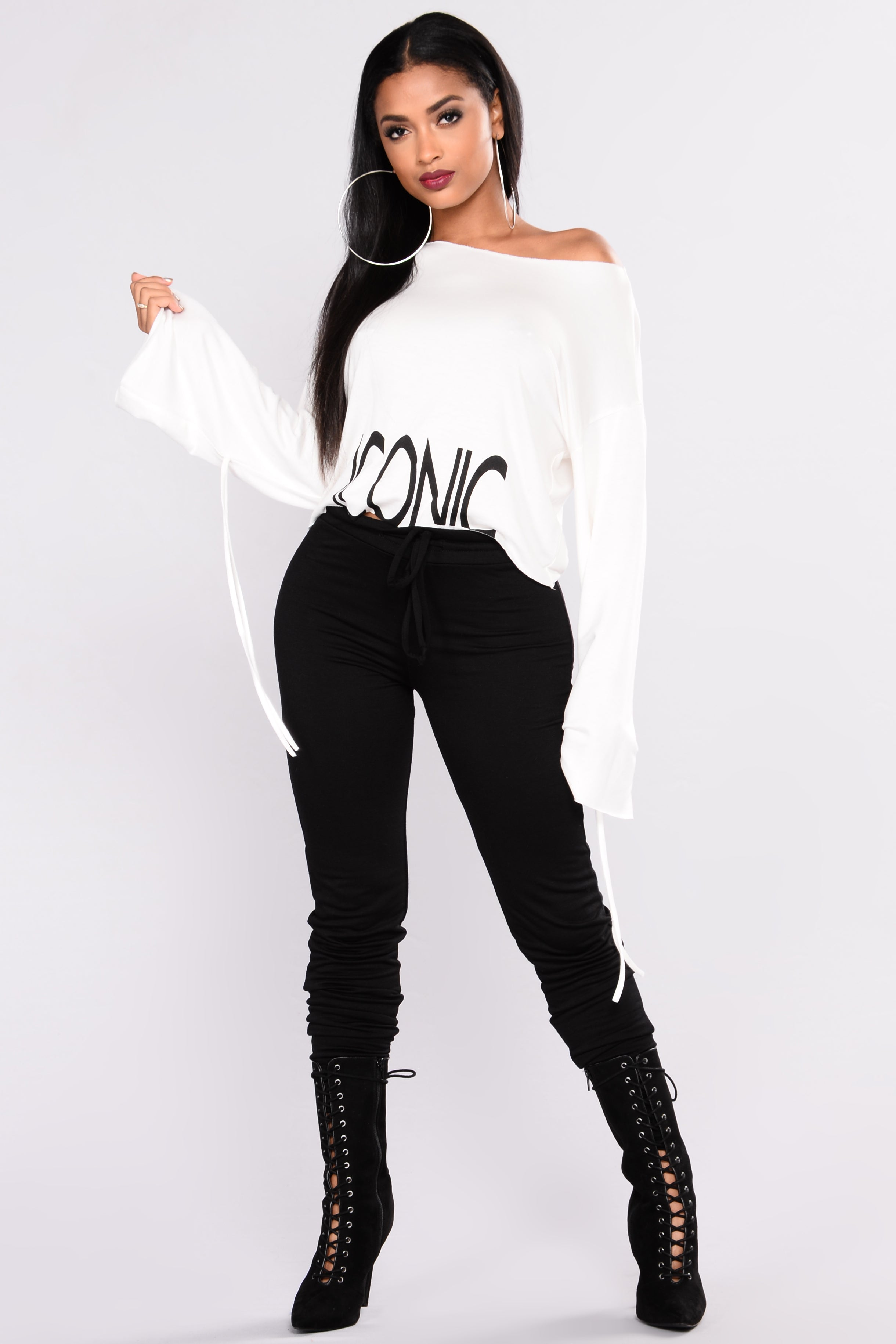 f2ffe56f73498 So Iconic Top - Ivory