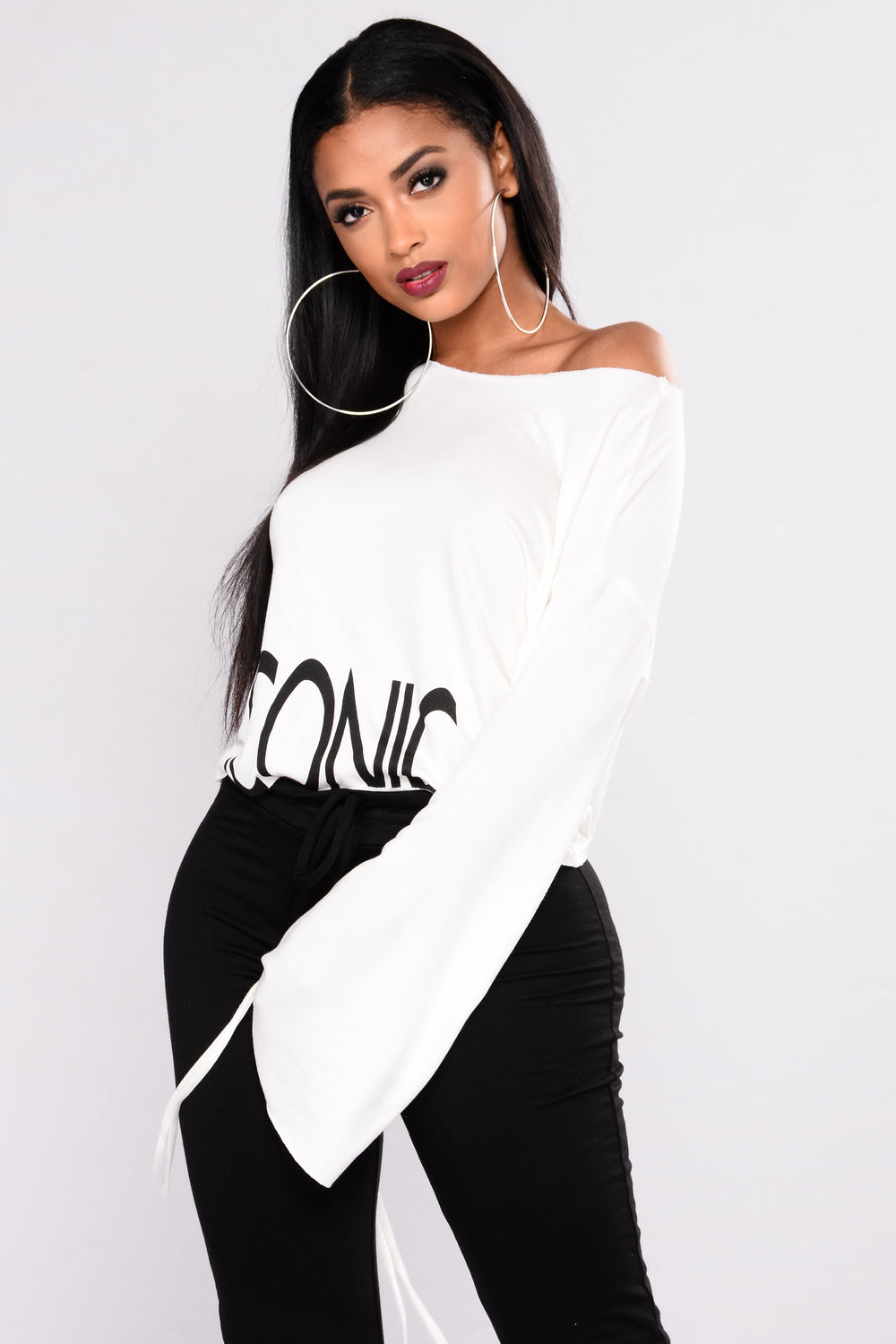 So Iconic Top - Ivory