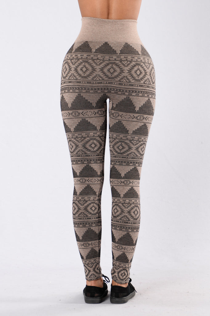 Memorable Fleece Legging - Oatmeal