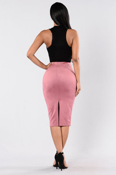 Of My Dreams Skirt - Mauve
