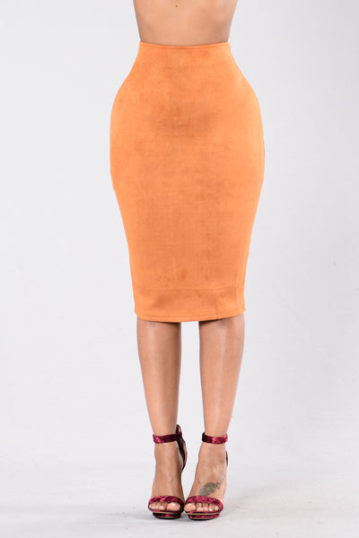 Million Miles Away Skirt - Camel