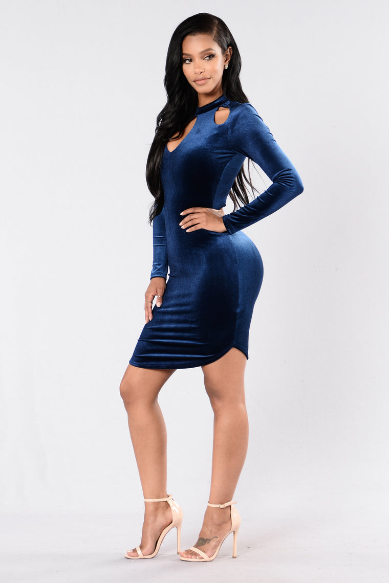 Bonus Round Dress - Blue