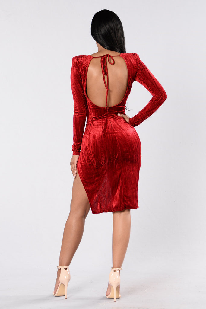 Loving You Dress - Red