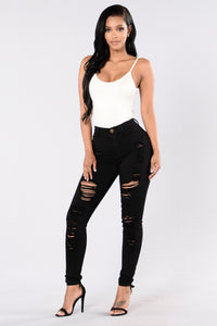 Havin It Skinny Jean - Black Angle 2