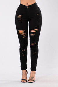 Havin It Skinny Jean - Black Angle 1