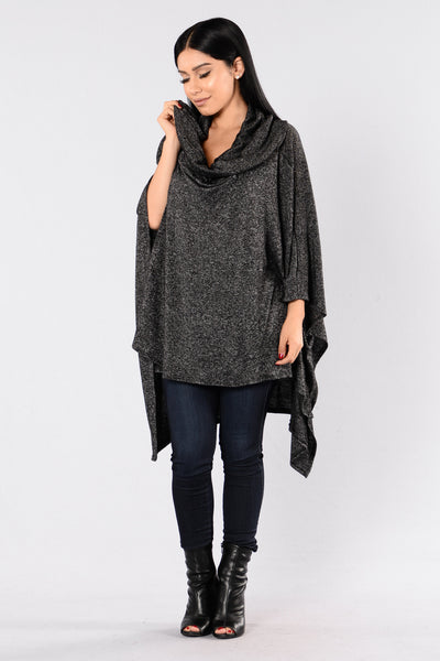 Easy Like Sunday Sweater - Black