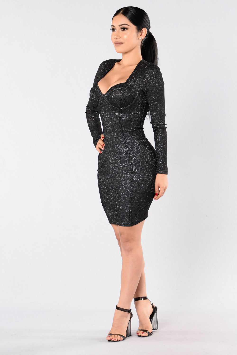 Remember This Moment Dress - Black
