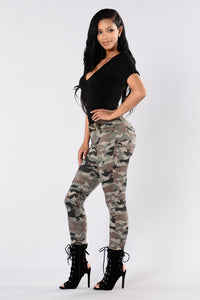 Locked and Loaded Jeans - Camo