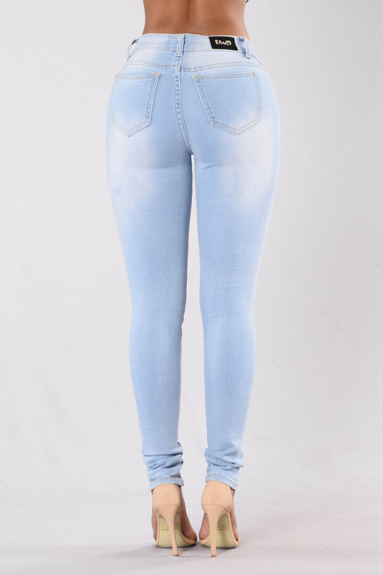 Pure Distress Jeans - Light