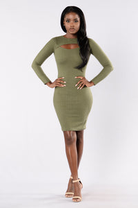 Juliana Dress - Olive
