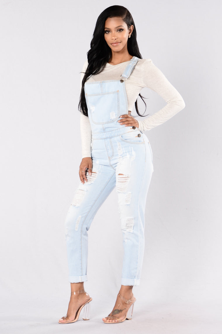 Dallas Overalls - Light Blue