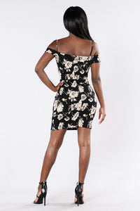 Uniquely Yours Dress - Black Angle 5
