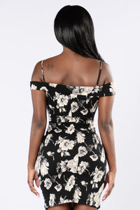 Uniquely Yours Dress - Black Angle 3