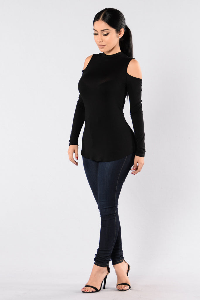 Dancing Ballerina Top - Black