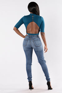 Come Back Baby Bodysuit - Moroccan Blue