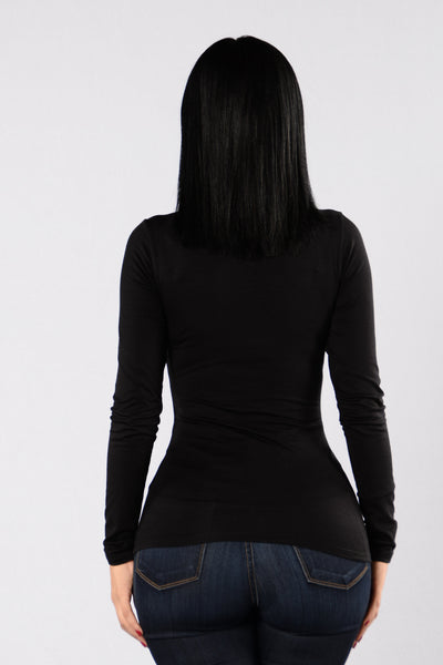 Can't Hide Top - Black