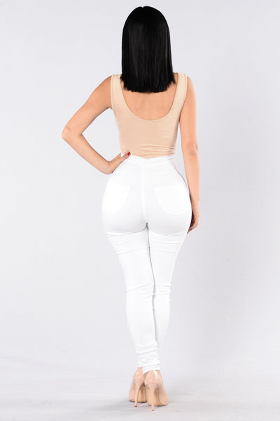 It's You Not Me Bodysuit - Camel