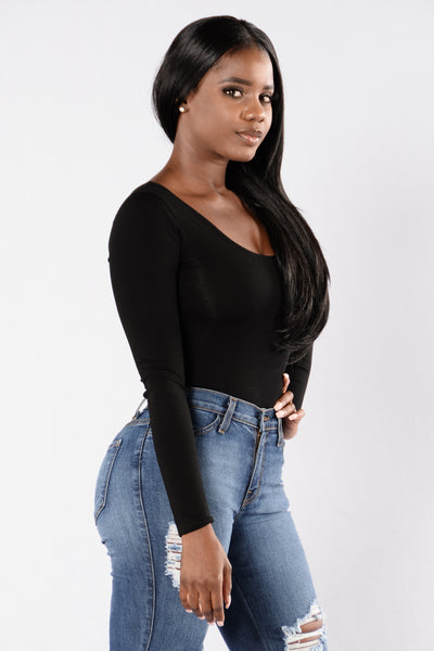 Matchbox Bodysuit - Black