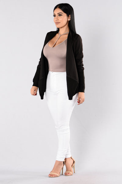 First Love Cardigan - Black