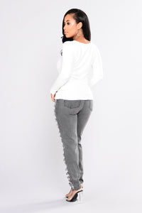 Massiel Thermal Top - Ivory