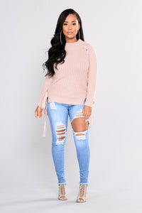 Nazy High Rise Jeans - Light Wash