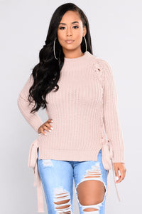 Joyce Sweater - Dusty Pink