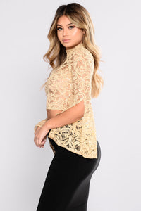 Macondray Lona Sleeve Top - Stone