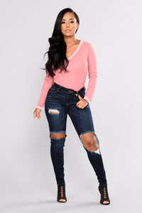 Davina Skinny Jeans - Dark Denim