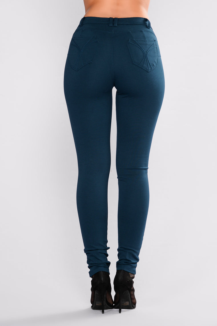 Lissi Hyperstretch Booty Lifting Pants - Teal