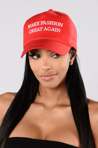 Make Fashion Great Again - Red