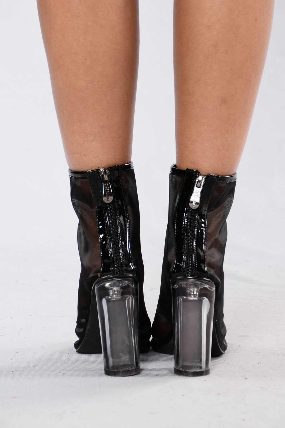 See Right Through You Boot - Black