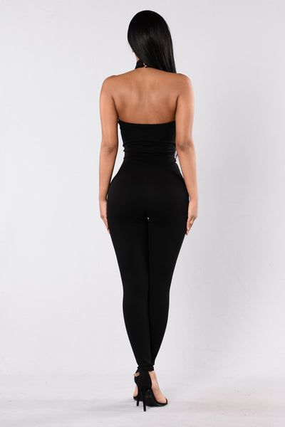 Electric Soul Jumpsuit - Black