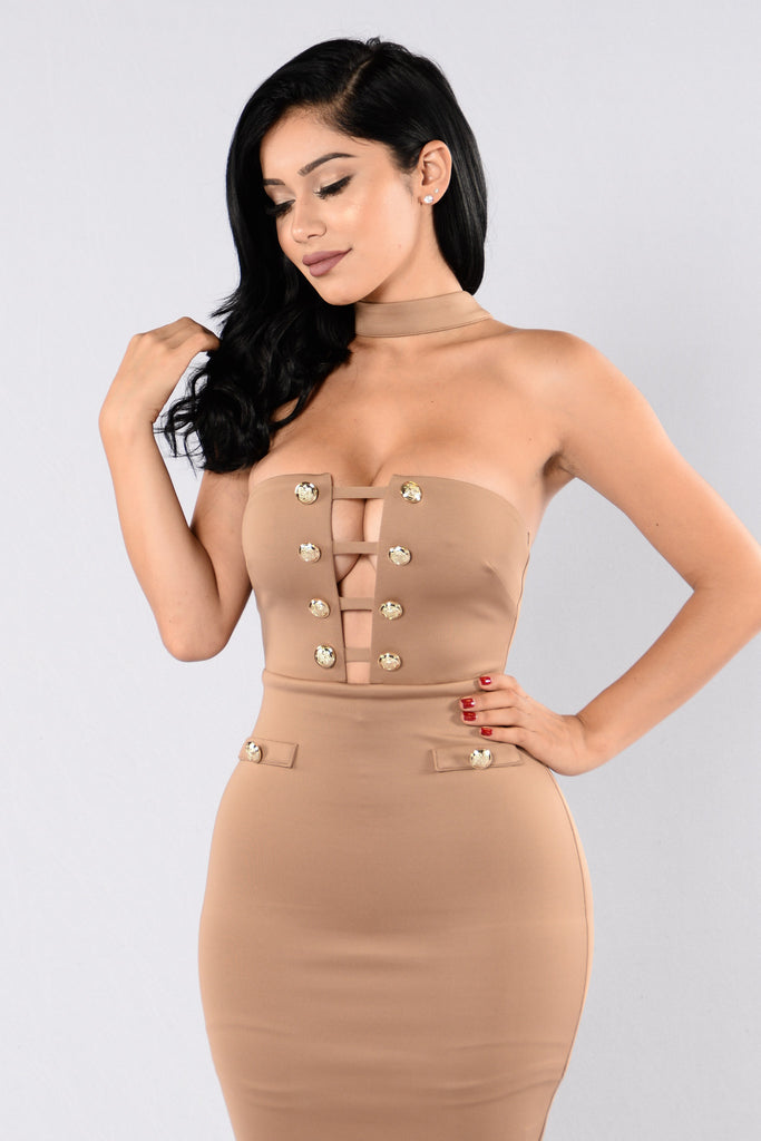 Talya Dress - Mocha