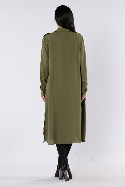 Somewhere To Run Jacket - Olive