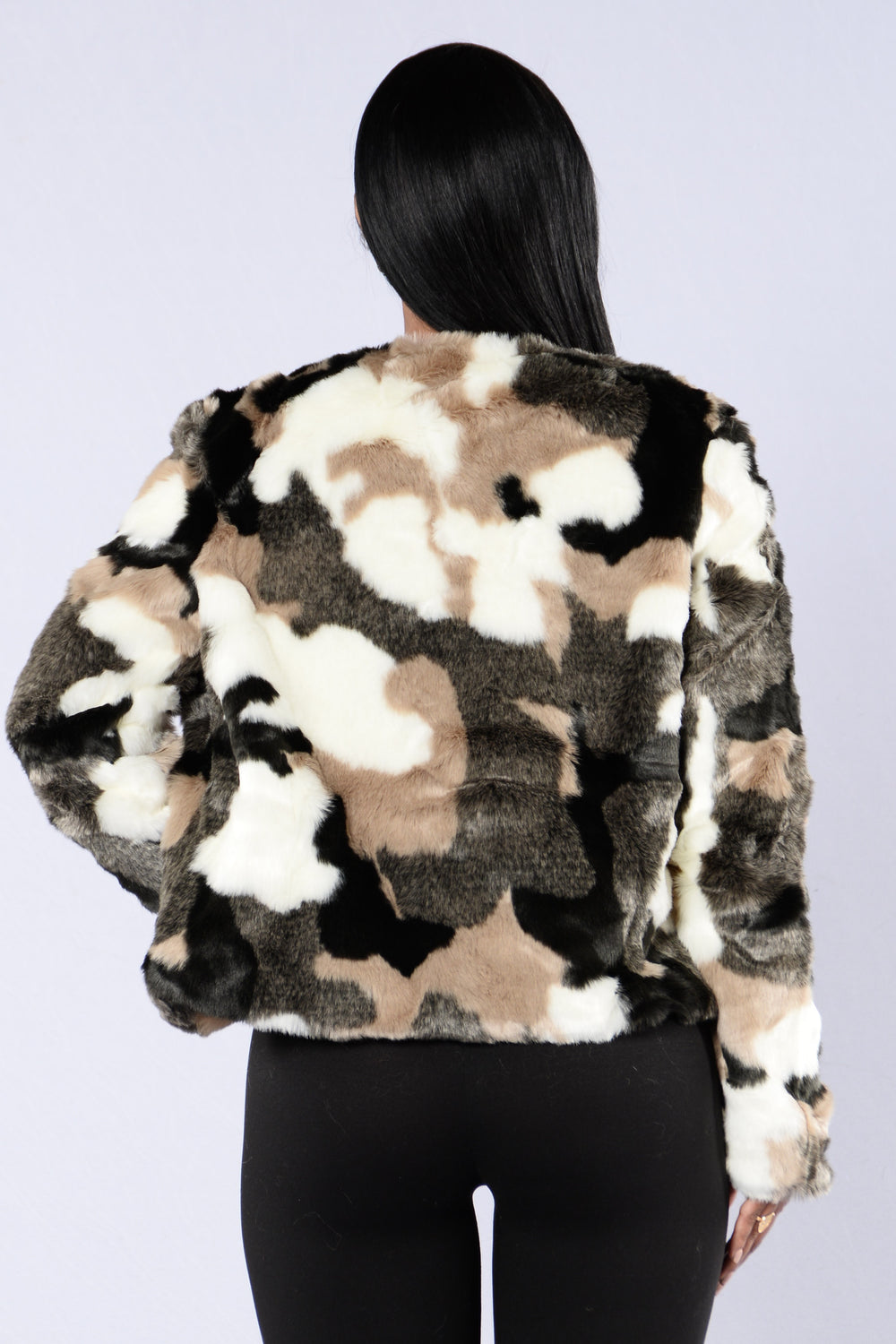 Holy Cow Jacket - Black/White