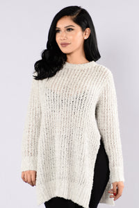Boyfriend Sweater - Grey