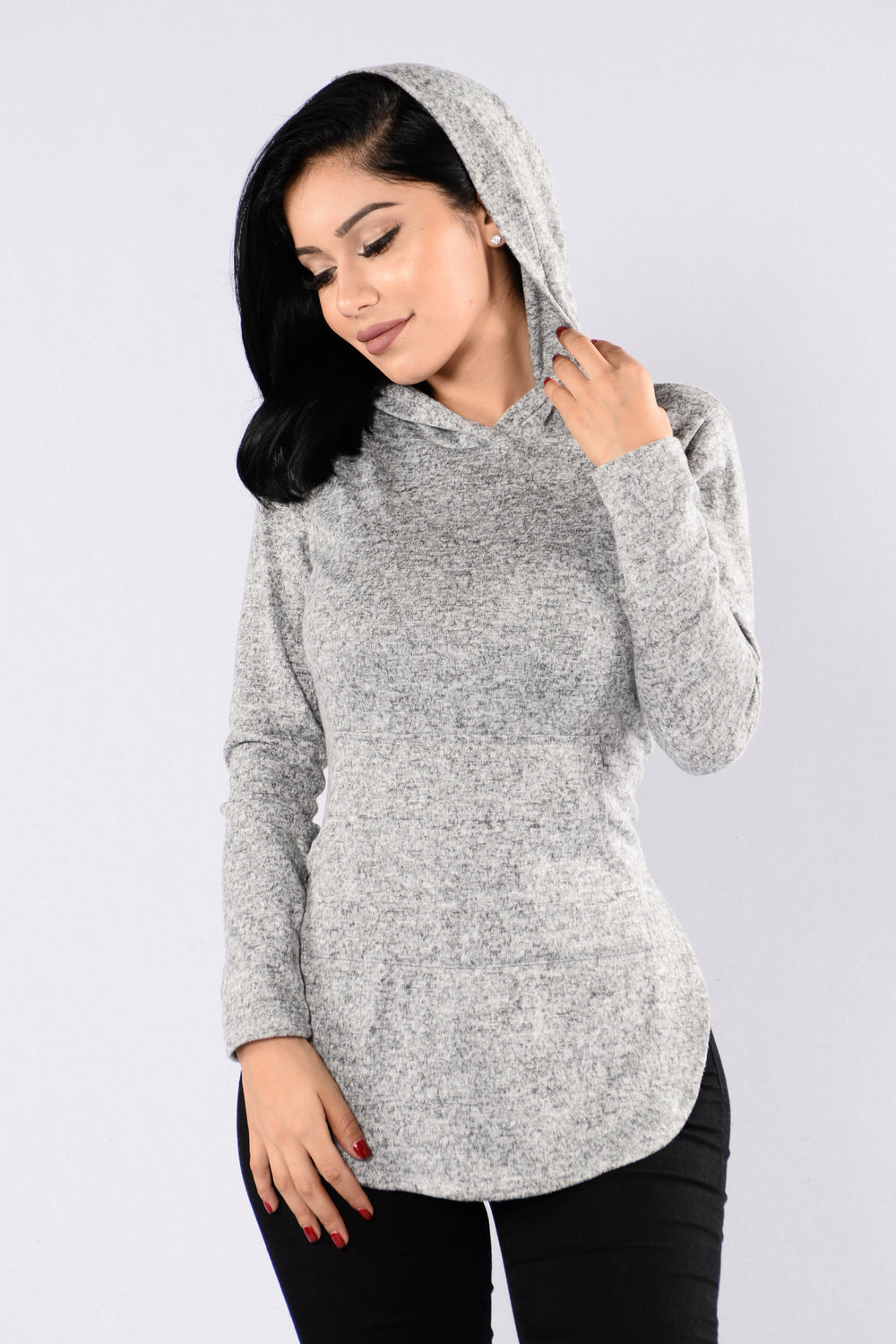 Not Your Average Hoodie - Heather Grey