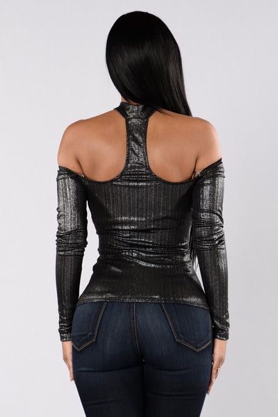 Ghost Rider Top - Silver