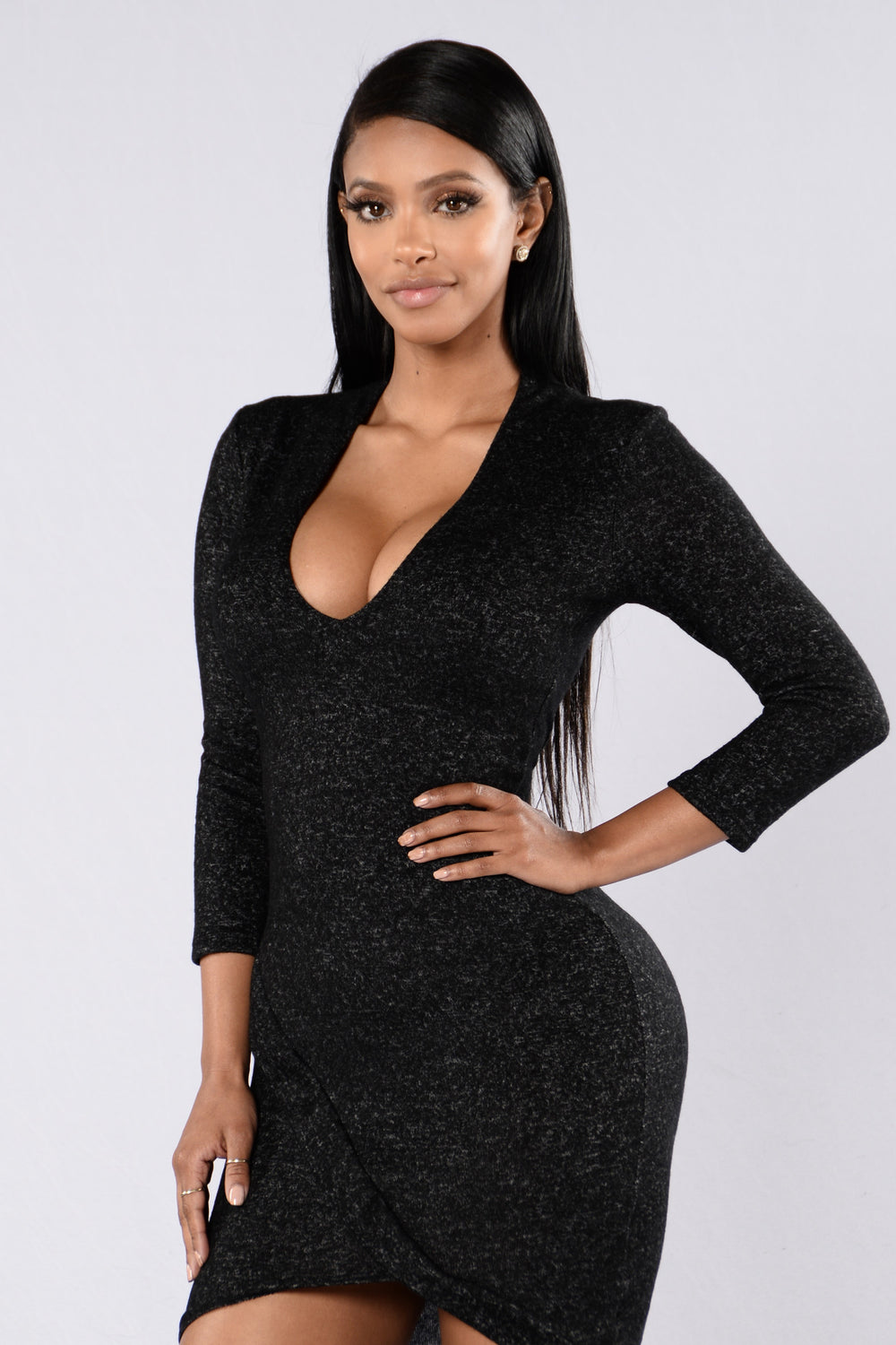 Love Robbery Dress - Black