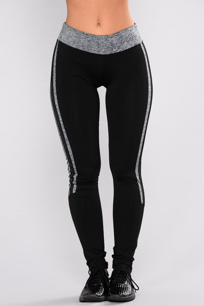 Above And Beyond Active Leggings - Grey