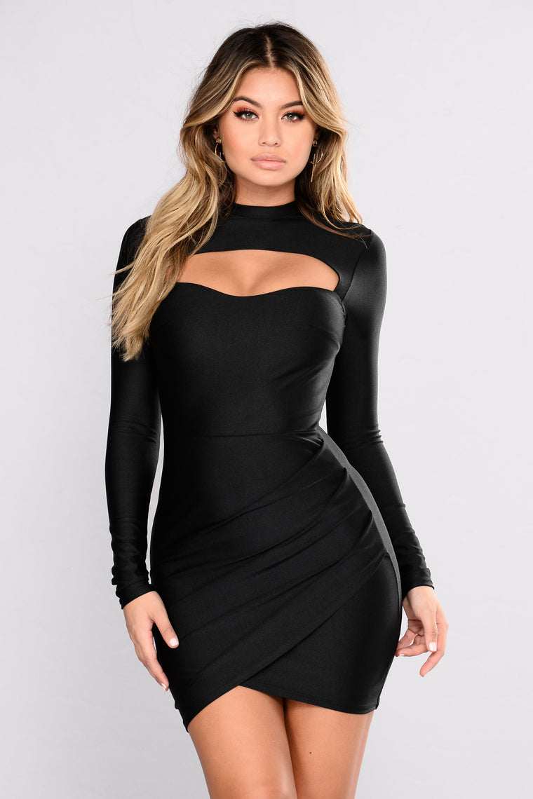 Dare To Mock Me Dress - Black
