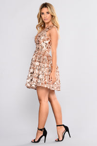 For Real Fairytale Dress - Rose Gold