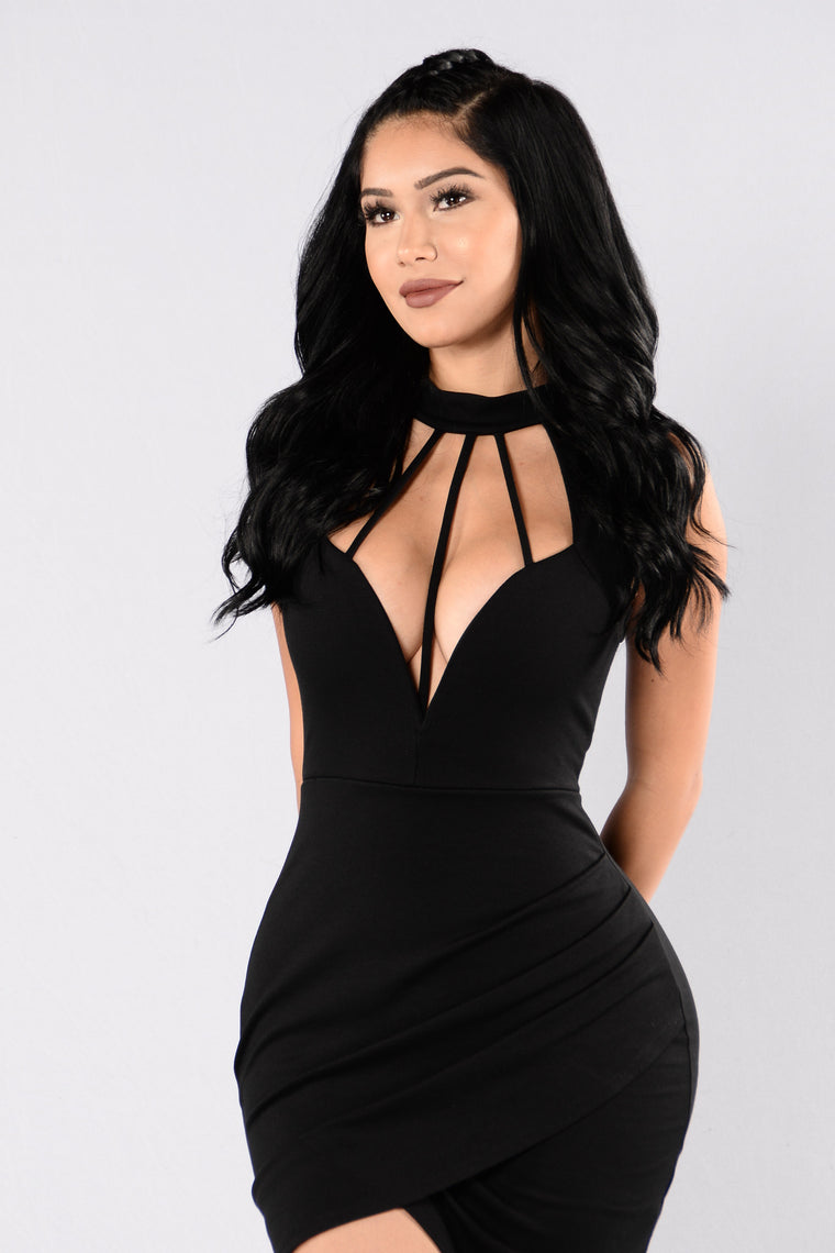 Come And See Me Dress - Black