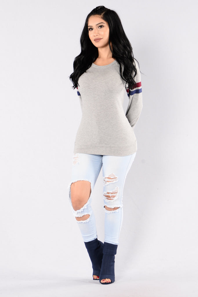 Comfy Top - Grey