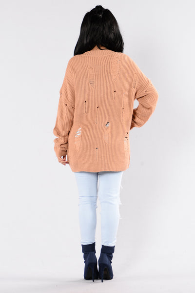Edge Of Heaven Sweater - Camel