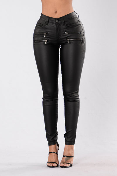 Trouble Maker Pants - Black
